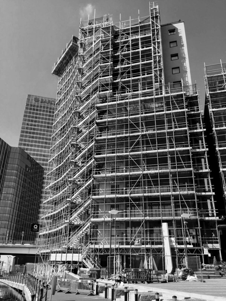 Scaffold contractor in London