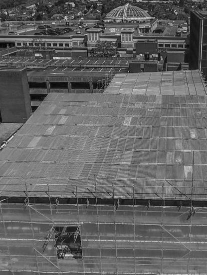 Temporary roofing service in London