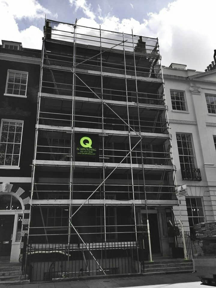 Approved scaffolding contractor in London