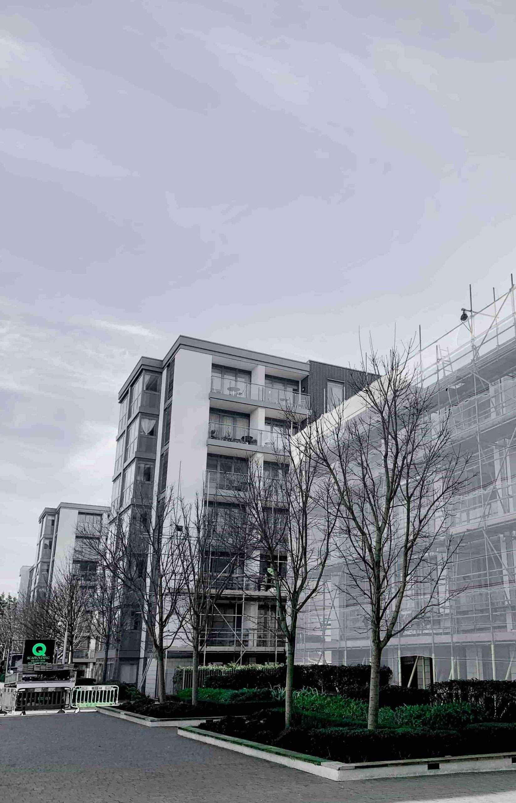 residential scaffolding rental in London