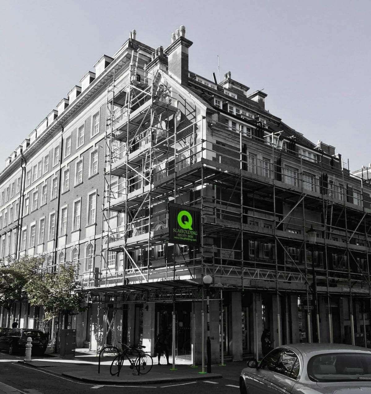 Scaffolding erectors in London