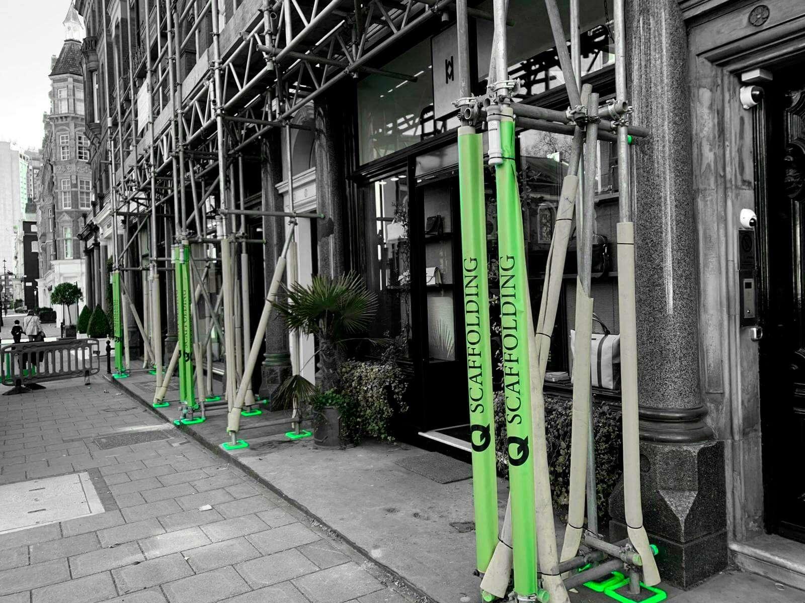 Scaffolding erectors service in London