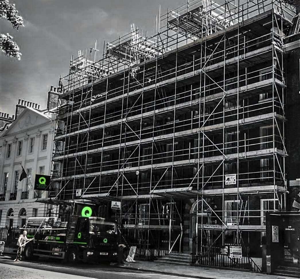 The best scaffolding erectors in London