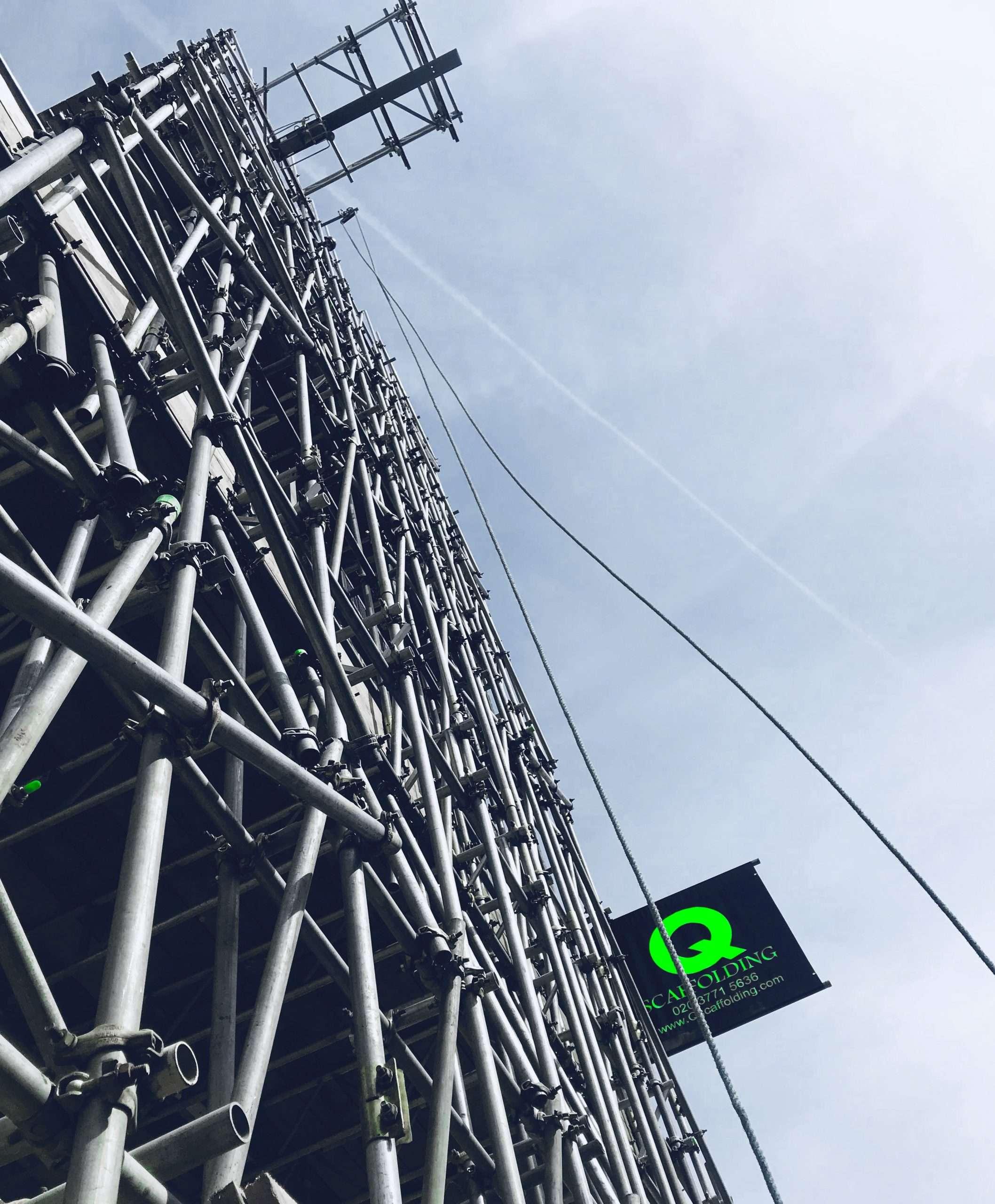 Bespoke scaffolding services in London