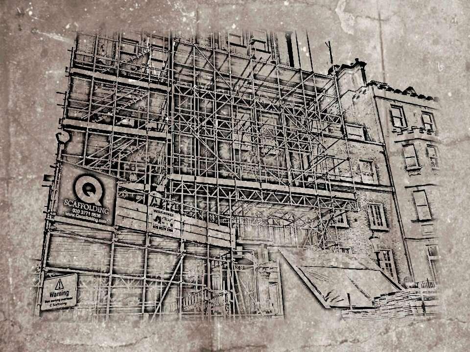 Scaffolding drawing service in London